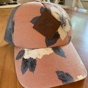 O'Neill Floral Trucker Hat!